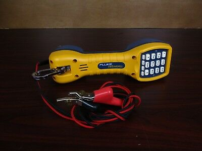Fluke Networks TS30 Telephone Tester With Angular Bed-of-Nails Clips