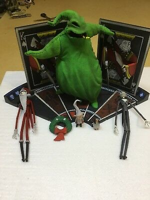 Nightmare Before Christmas Oogie Boogie Man Jack skeleton diorama