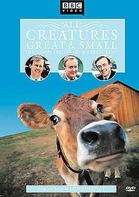 All Creatures Great & Small - The Complete Series 4 Collection, Good DVD, Rebecc