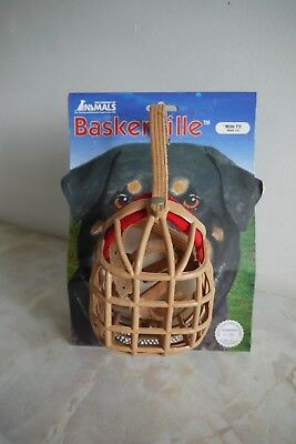 The Company of Animals Baskerville Rottweiler Dog Muzzle Wide Fit