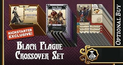 Massive Darkness - Zombicide Black Plague Crossover - NEU in OVP + Replacement