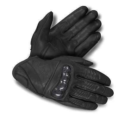 Motorbike Motorcycle Leather Short Gloves Natural Cowhide premium A+ Grade