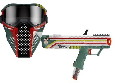Boba Fett NERF Rival Apollo XV-700 Blaster Star Wars w/ Mask NEW!