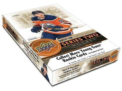 Upper Deck 2017-2018 NHL Upper Deck Series Two - Hockey Display (Hobby)