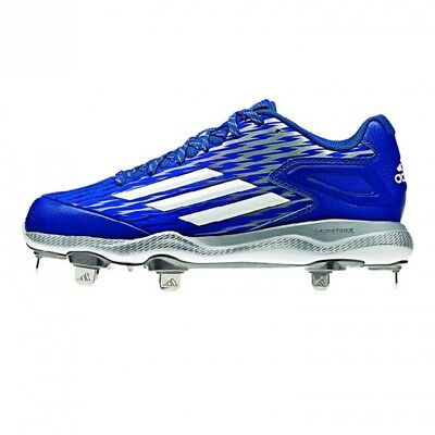 (10 B(M) US, Collegiate Royal/white/grey Metallic) - adidas Performance