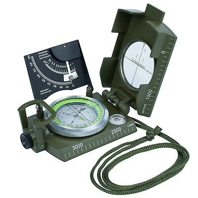 Compass Waterproof OLRICK Compass with Inclinometer Multifunction Military and