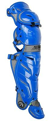 (Royal) - All-Star System 7 Axis Adult Leg Guards 42cm LG40WPRO. Brand New