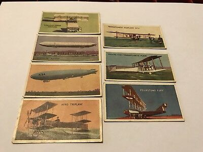 1927 Champion Famous Aircraft Trading Cards