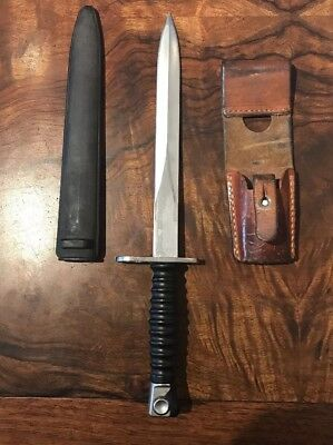 Swiss Model Wenger Bayonet Knife with Scabbard & Frog Swiss Model 1957 Wenger Ba