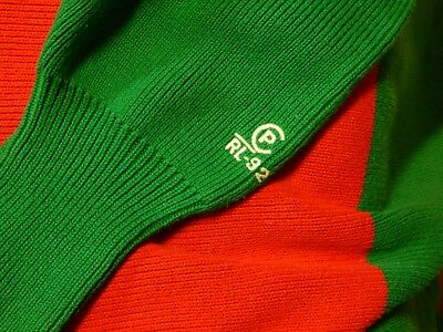 XL Vintage POLO Sport CP RL 92 Sweater cable knit usa cprl cprl92 93 90s ski