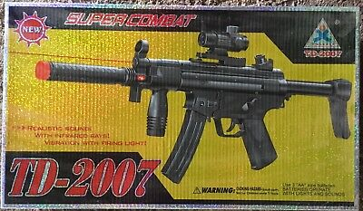 Taidi Td 2007 Light And Sound Toy Gun