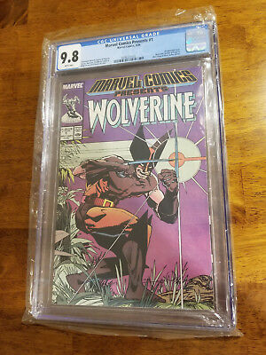Marvel Comics Presents Wolverine Issue 1 Cgc 9.8 White Pages September 1988