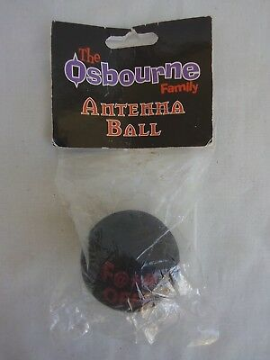 "Vintage The Osbourne Family Black Sabbath Ozzy ""F@** OFF!"" Antenna Ball"