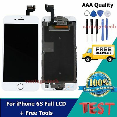 For iPhone 6S Full LCD Touch Screen Digitizer Display Assembly Replacement White