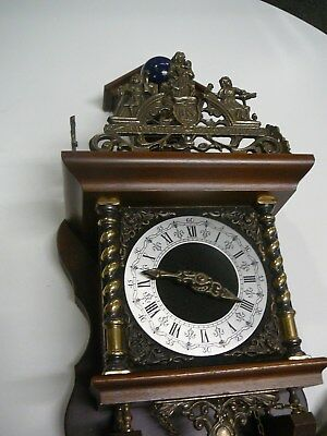 NU ELCK SIN Antique Dutch Clock