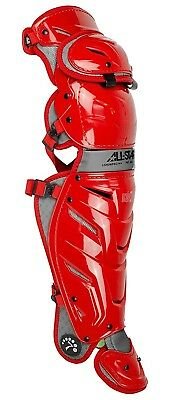 (Scarlet) - All-Star System 7 Axis Adult Leg Guards 42cm LG40WPRO