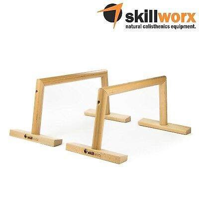 (Parallettes Large | Lucent) - skillworx Parallettes - Parallette bars made of
