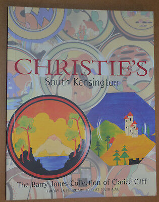 CHRISTIE'S Barry Jones Collection of Clarice Cliff
