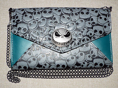 The Nightmare Before Christmas Jack Skellington Convertible Wallet Clutch Purse