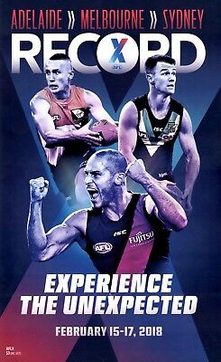 Aflx Record ~First Ever Played ~ Port, Crows, Collingwood, Geelong, Freo, Eagles