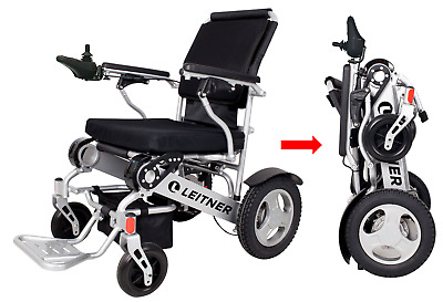 Electric Light-Weight Folding Wheelchair LEITNER FRANKIE Free Shipping