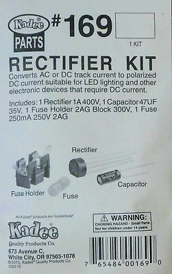Kadee HO #169 Rectifier Kit Converts AC to DC Track Current to Polarized DC