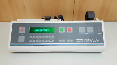 Graseby 3100 syringe pump infusion driver