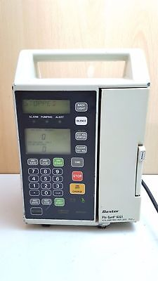Baxter 6201 Volumetric Infusion Pump With 1x  IV Giving Set