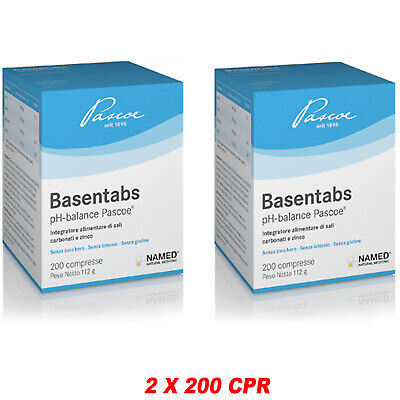 Named Basentabs 200 cpr Sali Carbonati e Zinco Alcalinizzanti