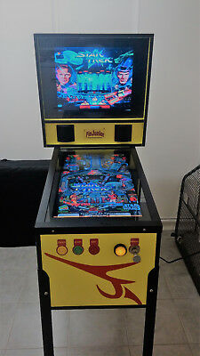 Virtual Pinball machine with over 60 pinball games to choose from mancave,kids