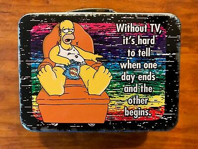 Simpsons Collectible Holograph Style Tin (9.5 cm) (2007)