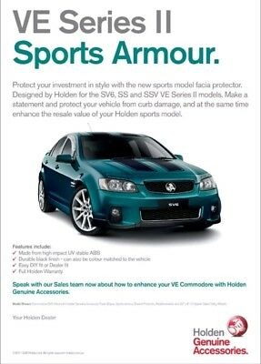 ve commodore series 2 armour front kit