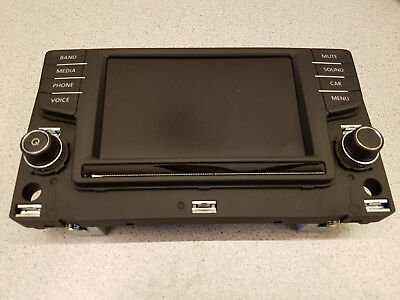VW Golf 7 Passat B8 Radio Composition Media Display 6,5 Zoll 3G0919605H