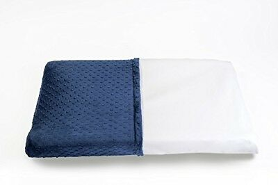 Less Mess Wipeable Changing Table Pad Cover in Navy Blue - Waterproof, Non