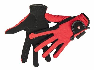HKM PRO TEAM Riding Gloves - Professional Nubuck Look -