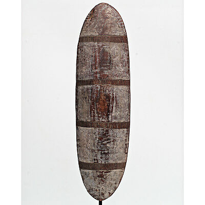Rare Aboriginal Central Queensland Bloodwood Shield with  Ceremonial Paint