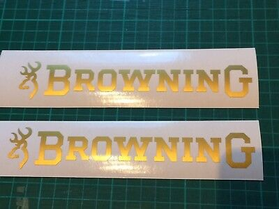 Browning Shotgun Crossbow Sticker Hunting clay Pigeon shooting