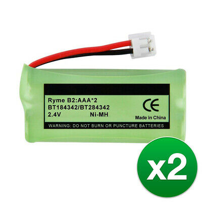 Replacement Battery For Vtech CS6719-2 & CS6729 Phone Models - 2 Pack