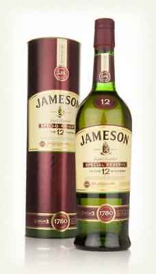 Jameson 12 Year Old Special Reserve Triple Distilled Irish Whiskey 700mL
