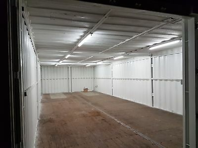 40ft x 16ft Shipping Container - with electrics and anti condensation *inc VAT*