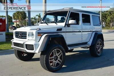 2017 Mercedes-Benz G-Class G550 4x4 Squared Portal Axles Off-Road Reduction Transfer Case Locking Differentials Dual Shocks