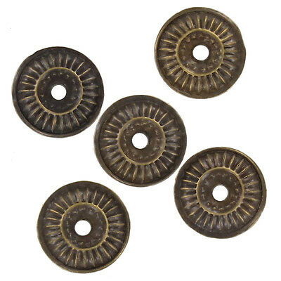 Medieval Nocturnal Wheel Ornamental Brass Washer Adornment Crafting Set