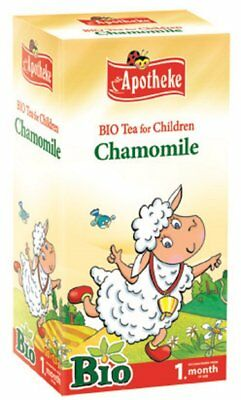 Apotheke Camomile Tea for Children and Babies from 1st week of life. Pack of 2.
