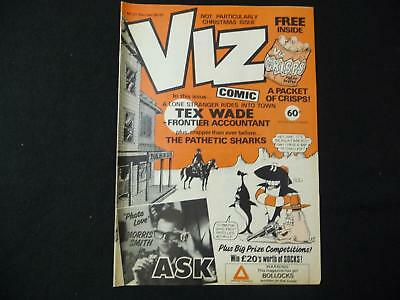 Viz Comic Magazine issue 21 with free packet of crisps poster (LOT#1845)