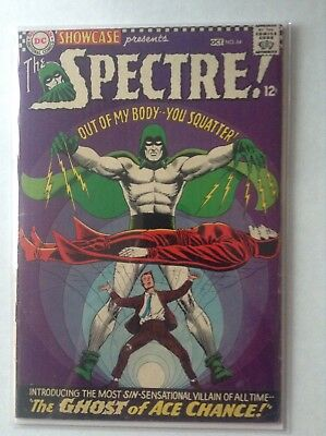 DC  SHOWCASE  64   SPECTRE  1966  EARLY SA APPEARANCE 4.0 VG in Mylar