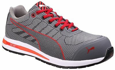 ca69296008b PUMA SAFETY FOOTWEAR Mens Omni Flash Low Lace up S1 Safety Trainers ...
