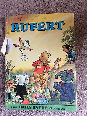 Rupert Annual Printed 1972 Price unclipped