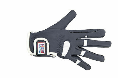 HKM PRO TEAM Riding Gloves - Madeira