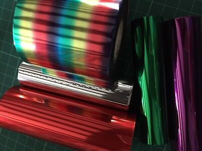 MIXED HOT FOIL VARIETY pack TODO CRAFT DRAGON  5 x 1m length