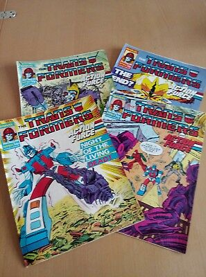 Marvel Transformers Comic - May 1988 - Issues 164-167